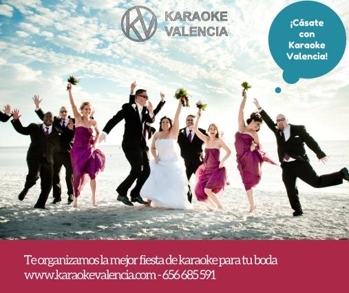 boda karaoke valencia